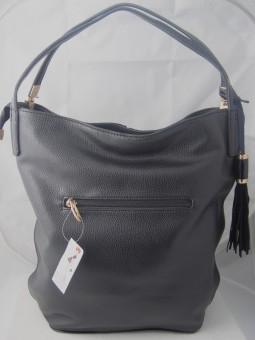 Дамска чанта от велур