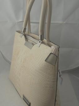 Дамска чанта бежов цвят