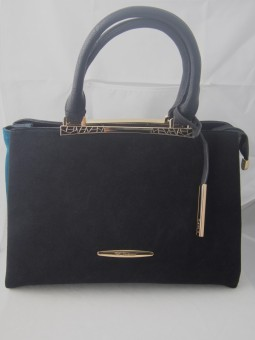 Дамска чанта от естествен велур в три цвята