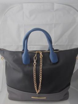 Дамска чанта в три цвята