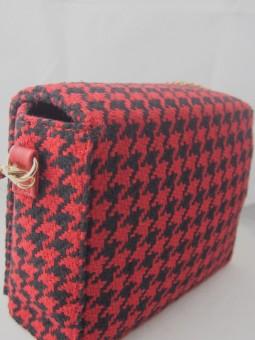 Малка чанта от текстил