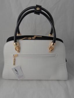 Елегантна бяла чанта