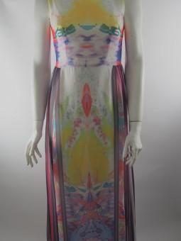 Копринена лятна рокля