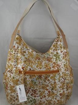 Луксозна чанта от  естествен велур