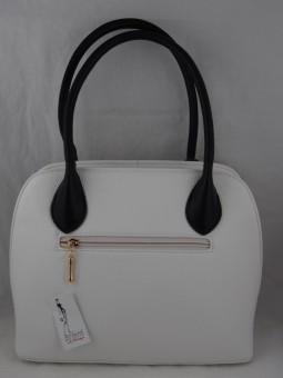 Елегантна чанта с перфорация