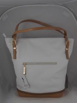 Чанта с  цветя естествена кожа