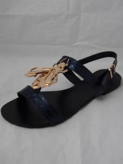 Дамски сандал с аксесоар
