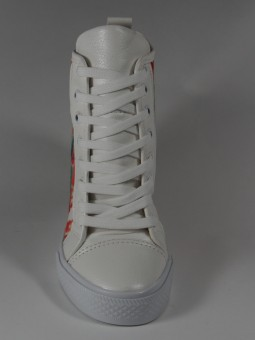 Спортна висока обувка на платформа