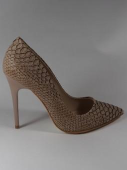 Елегантна бежова обувка