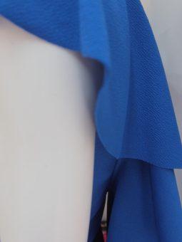 Рокля в кралско синьо