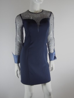 Синя рокля