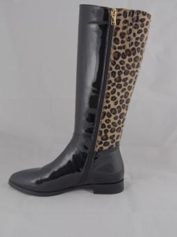 Дамски ботуш тип леопард