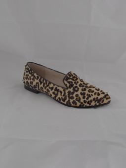 Дамска обувка леопард