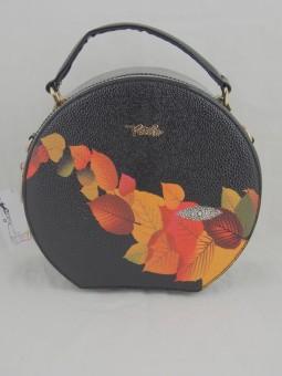 Компактна кръгла чанта
