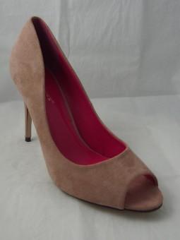 Стилна дамска обувка с отворени пръсти