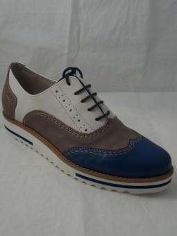 Дамска обувка тип колежанка