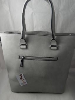 Дамска чанта в меки цветове