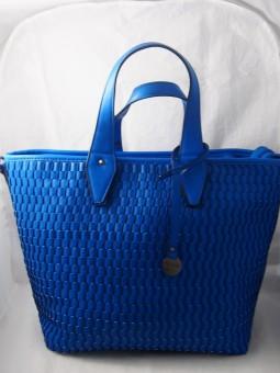 Дамска чанта в син цвят