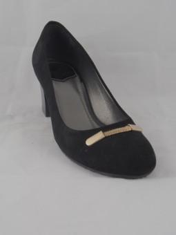 Елегантна обувка от естествен велур