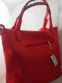 Дамска чанта с плетеници