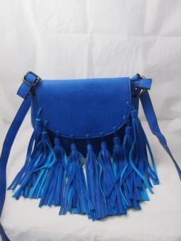 Дамска чантичка с ресни