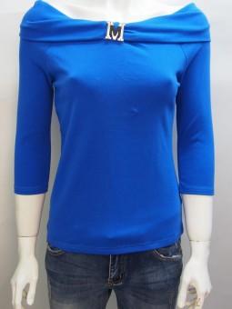 Дамска блуза с три-четвърт ръкав