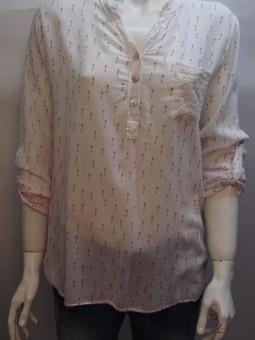 Ефирна риза с копчета