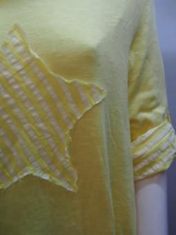 Дамска блуза от трико от две части