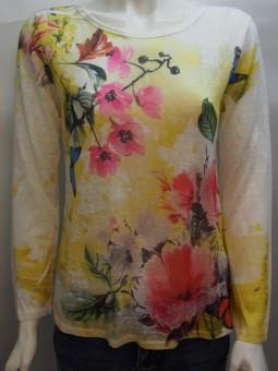 Блуза цветен принт