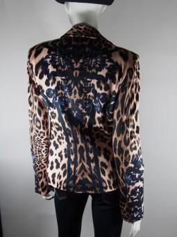 Леопардово дамско сако