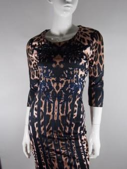 Леопардова рокля с мотиви