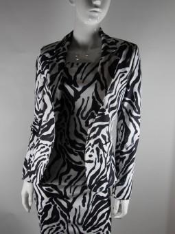 Комплект рокля без ръкав със сако