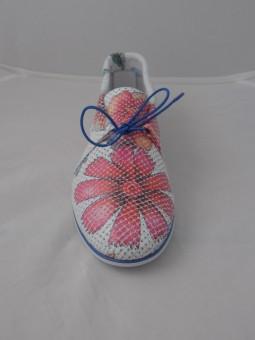 Ежедневна обувка с цветя