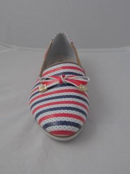 Лятна обувка от естествена кожа