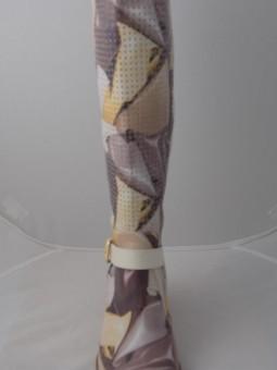 Летни ботуши от естествена кожа