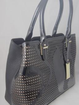 Дамска чанта от естествен лак
