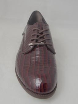 Ежедневна лачена обувка с връзки