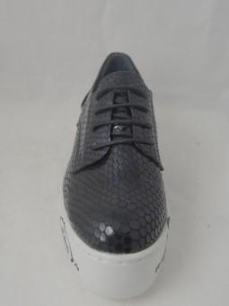 Кожени обувки на платформа