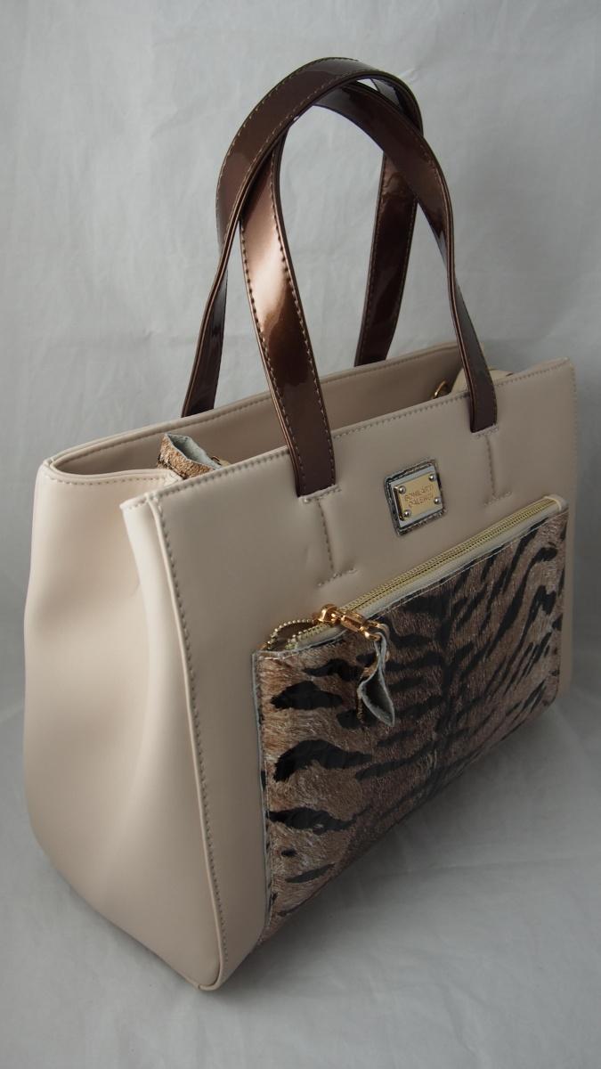 744b71cbe24 Бежова чанта с тигрови мотиви » Магазин за дамски дрехи, обувки ...